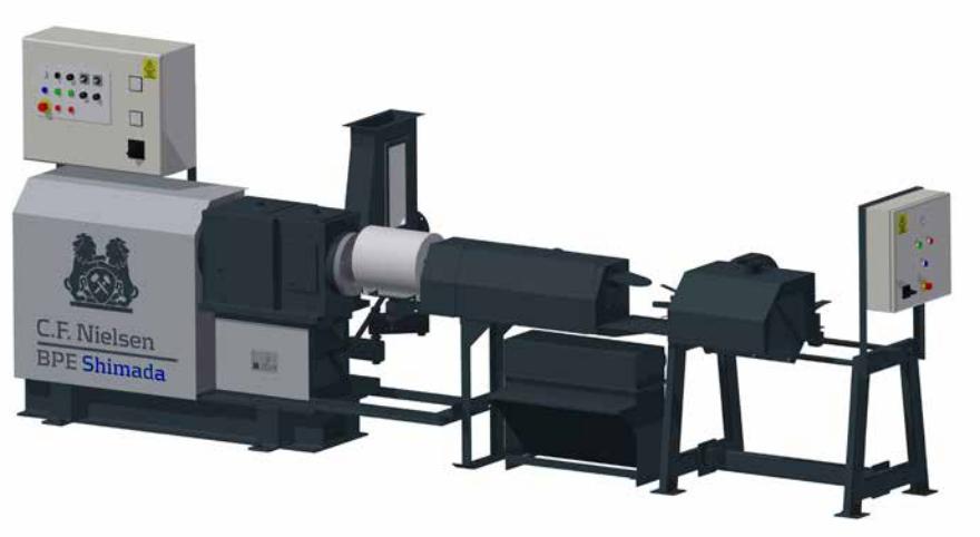 ruf extrusion machine