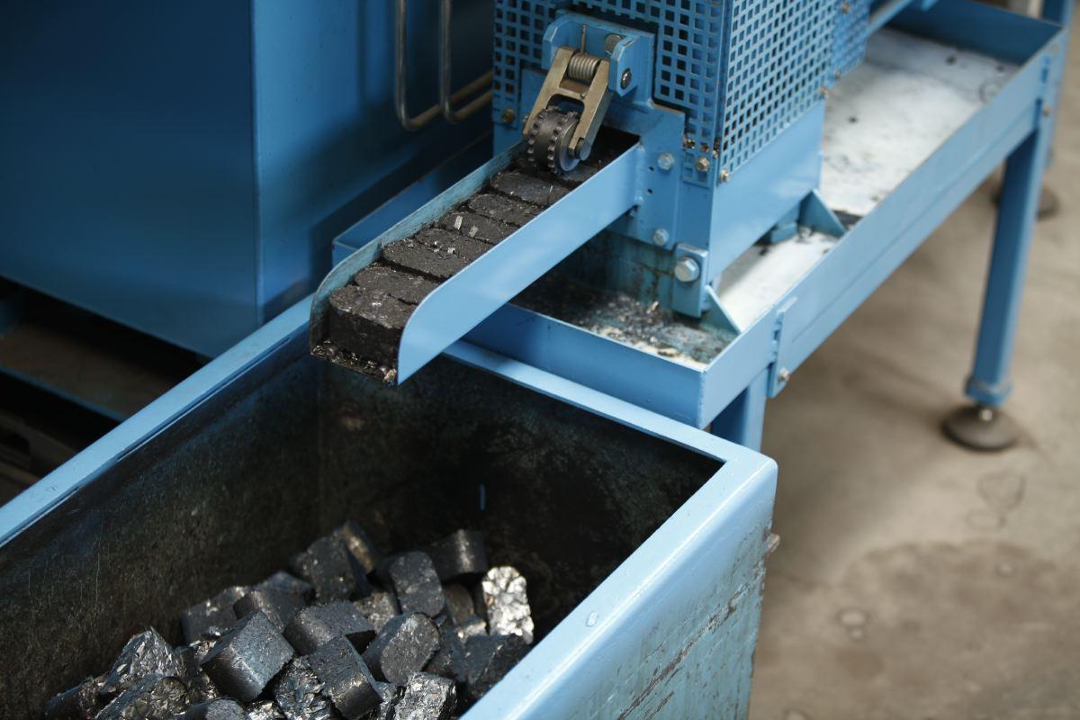 steel briquettes