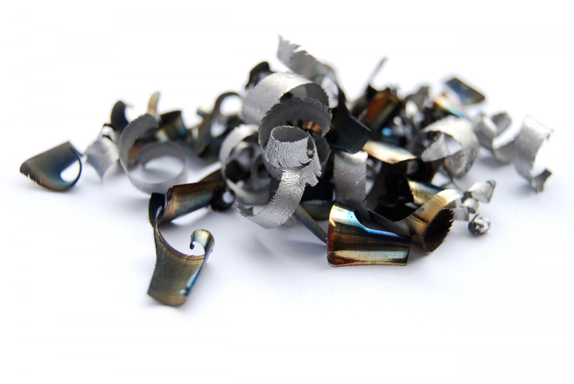 steel shavings