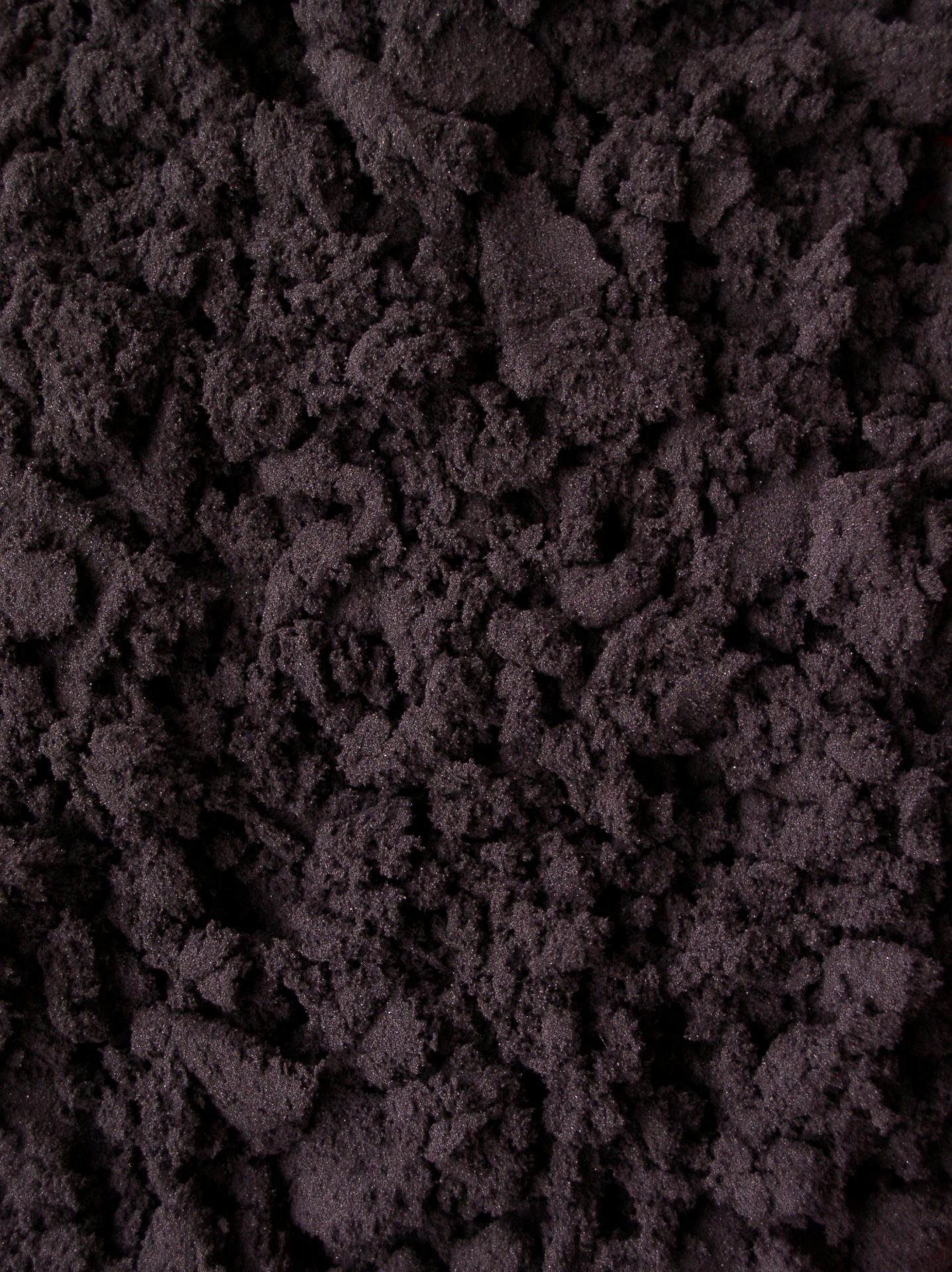 raw purple brown sludge